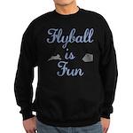Flyball is Fun Sweatshirt (dark)
