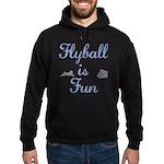 Flyball is Fun Hoodie (dark)