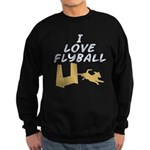 Love Flyball (2) Sweatshirt (dark)