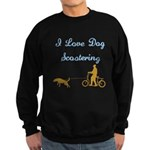 Dog Scootering Sweatshirt (dark)