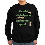 Carry Your Crook Sweatshirt (dark)