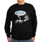 Where Are The Sheep? v2 Sweatshirt (dark)