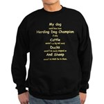 Herding Champion CDS Sweatshirt (dark)