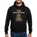 Herding Champion CDS Hoodie (dark)