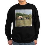 Dog Meets Sheep Sweatshirt (dark)
