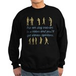 Dog Trainers Sweatshirt (dark)