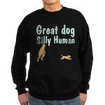 Silly Human Sweatshirt (dark)