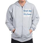Silly Human Zip Hoodie