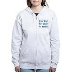 Pity About the Handler Women's Zip Hoodie