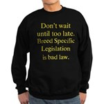 Bad Law Sweatshirt (dark)