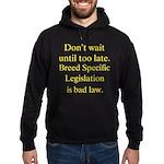 Bad Law Hoodie (dark)