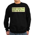 Honest Caring Kids Sweatshirt (dark)