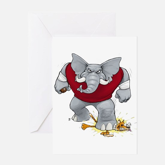 Bama Stomp! Greeting Card