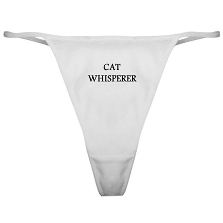 Cat Whisperer Classic Thong