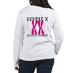 Double X, Double Smart Women's Long Sleeve T-Shirt