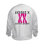 Double X, Double Smart Kids Sweatshirt