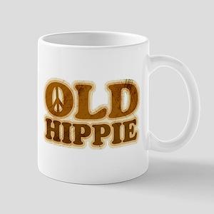 Old Hippie Peace Mug