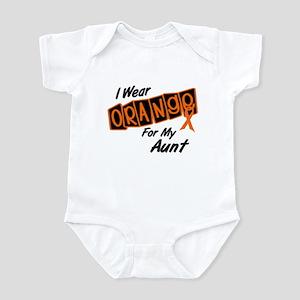 I Wear Orange For My Aunt 8 Infant Bodysuit