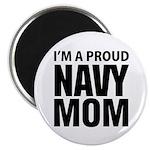 Proud: Navy For Moms Magnet