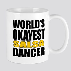Worlds Okayest Salsa 11 oz Ceramic Mug