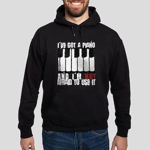 I've Got a Piano Hoodie (dark)