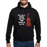 I've Got a Cello Hoodie (dark)