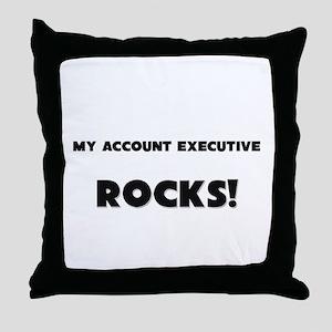 MY Accounting Technician ROCKS! Throw Pillow