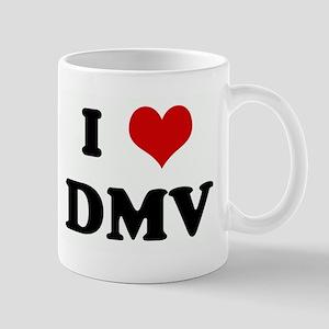 I Love DMV Mug