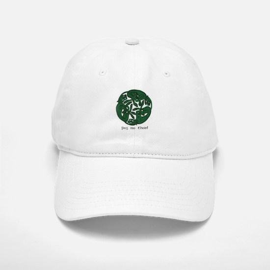 """""""Pog Mo Thoin Celtic Design"""" Baseball Baseball Cap"""