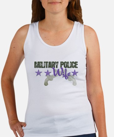Military Police Wife Women's Tank Top