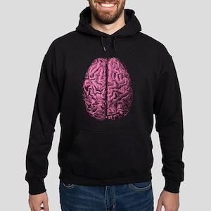 Human Anatomy Brain Hoodie (dark)