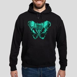 Human Anatomy Pelvis Hoodie (dark)