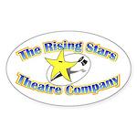 Rising Stars Theatre Sticker (Oval 50 pk)