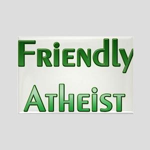 Friendly Atheist Rectangle Magnet