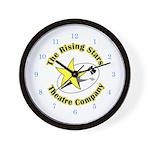 Rising Stars Theatre Wall Clock