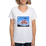 Rising Stars Theatre Women's V-Neck T-Shirt