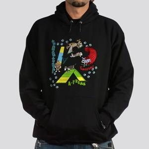 Four Agility Obstacles Hoodie (dark)