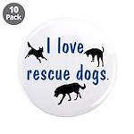 I Love Rescue Dogs 3.5