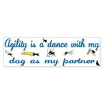 Agility Dance Bumper Sticker (10 pk)
