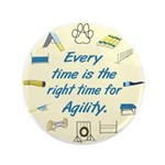 """Agility Time v 2 3.5"""" Button (100 pack)"""