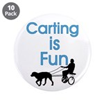 """Carting is Fun 3.5"""" Button (10 pack)"""