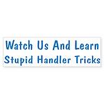 Watch Us Bumper Sticker (10 pk)