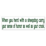 Carry Your Crook Bumper Sticker (50 pk)