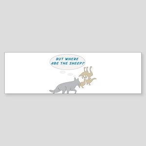 Where Are The Sheep? v3 Bumper Sticker (10 pk)