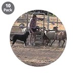 "Herding Dog Art 3.5"" Button (10 pack)"
