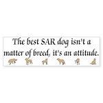 SAR Breed (ver 3) Bumper Sticker (50 pk)