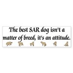 SAR Breed (ver 3) Bumper Sticker (10 pk)