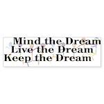 Live the Dream Bumper Sticker (50 pk)