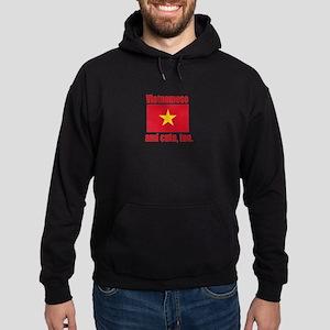Cute Vietnamese Hoodie (dark)