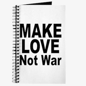 Make Love Not War Journal